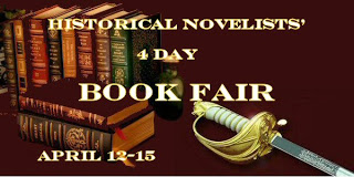 Please click the Book Fair graphic to see all the great authors taking part over the next four days.